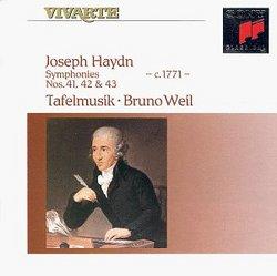 Symphonies 41-43