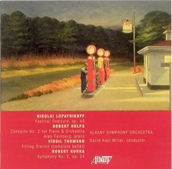 Robert Kurka Symphony No.2 .Albany Symphony