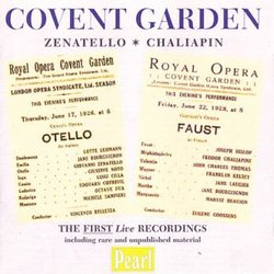 Covent Garden: Zenatello & Chaliapin