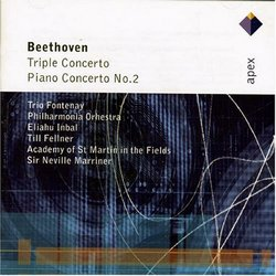 Beethoven: Triple Cto / Pno Cto No 2
