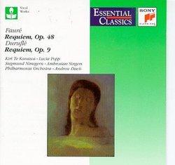 Faure: Requiem, Op. 48; Durufle: Requiem, Op. 9