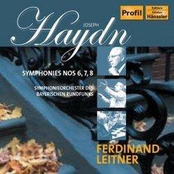 Haydn: Symphonies Nos. 6,7,8,