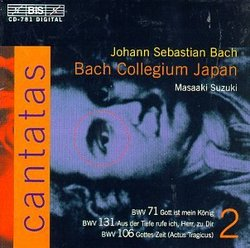 Bach: Cantatas, Vol 2 (BWV 71, 131, 106) /Bach Collegium Japan * Suzuki