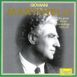 Giovanni Martinelli Recordings 1925 - 29