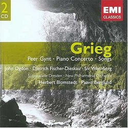 Grieg: Peer Gynt; Piano Concerto; Songs