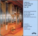 Great European Organs No. 63: Nicolas Kynaston Plays The Klais Organ of Megaron, the Athens Concert Hall
