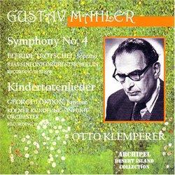 Mahler: Symphony No. 4; Kindertotenlieder