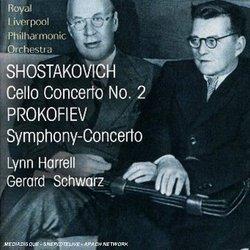 Dmitri Shostakovich / Prokofiev: Cello Concerto No.2 / Symphony-Concerto for Cello and Orchestra