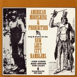 American Moonshine and Prohibition Songs