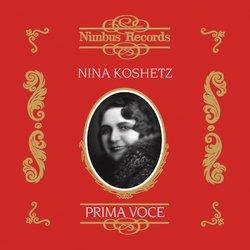 Prima Voce: Nina Koshetz