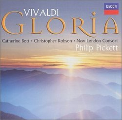 Vivaldi - Gloria / Bott · C. Robson · New London Consort · Pickett