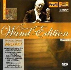 Mozart: Serenata notturna, K339; Flute Concerto, K313; Posthorn Serenade, K320