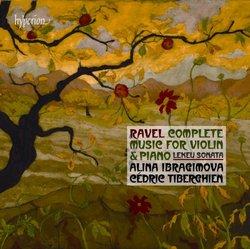 Ravel: Music for Violin & Piano.