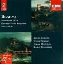 Johannes Brahms: Symphony No. 4/Ein Deutsches Requiem, Op. 45/Schicksalslied, Op. 53