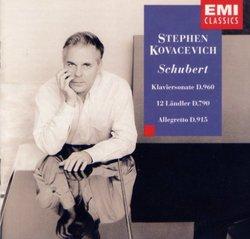 Piano Sonata 19 / 12 German Dances