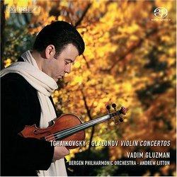 Tchaikovsky, Glazunov: Violin Concertos [Hybrid SACD]