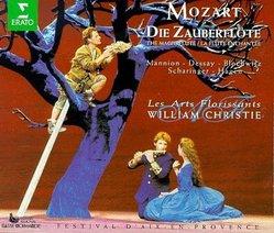 Mozart - Die Zauberflöte / Mannion, Dessay, Blochwitz, Scharinger, Hagen, Les Art Florissants, Christie