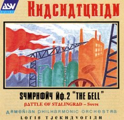 """Khachaturian: Symphony No. 2 """"The Bell"""""""