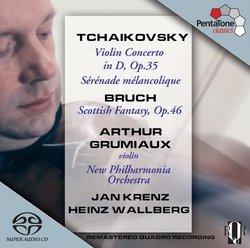 Tchaikovsky: Violin Concerto; Sérénade mélancolique; Bruch: Scottish Fantasy [Hybrid SACD]