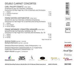 Double Clarinet Concertos