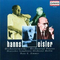 Hanns Eisler: Orchesterwerke