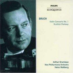Bruch: Violin Concerto No. 1; Scottish Fantasy