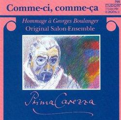 Comme-Ci, Comme-Ca, Hommage  Georges Boulanger