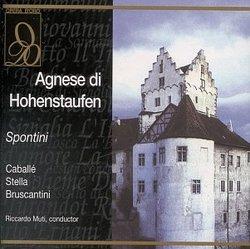 Spontini - Agnese di Hohenstaufen / Caballé · Stella · Bruscantini · Muti