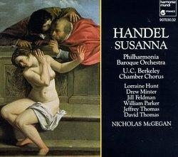 Handel - Susanna / Hunt, Minter, Feldman, W. Parker, J. Thomas, D. Thomas, PBO, McGegan