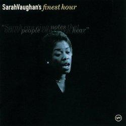 Sarah Vaughan's Finest Hour