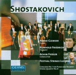 Dmitri Shostakovich: Piano Concerto No.1 / String Quartet No.8 / Preludes