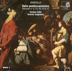 Marcello: Estro poetico-armonico/Junghanel, Cantus Colln