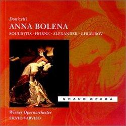 Donizetti - Anna Bolena / Suliotis, Horne, Alexander, Giaurov, Wiener Operaorchester, Varviso