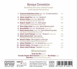 Oltremontano: Baroque Consolation - Sacred Arias at the Imperial Viennese Court