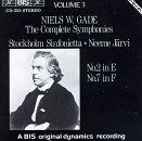 Niels W.Gade: The Complete Symphonies, Volume 3: No.2 in E & No.7 in F
