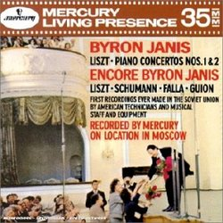 Byron Janis: Liszt: Piano Concertos Nos. 1 & 2
