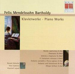 Mendelssohn-Bartholdy: Piano Works