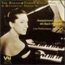 The Rosalyn Tureck Collection, Vol. 4: Harpsichord Recital All Bach Program