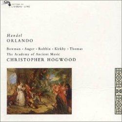 Handel - Orlando / Bowman, Augér, Kirkby, Robbin, Thomas, AAM, Hogwood