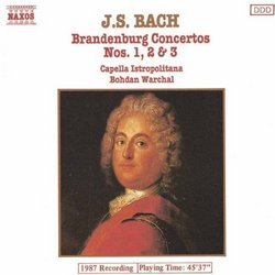 Bach, J.S.: Brandenburg Concertos Nos. 1-3