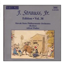 STRAUSS II, J.: Edition - Vol. 38