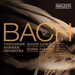 J.S. Bach: Cantatas BWV 54 & 170 / Concerto BWV 1060 / Orchestral Suite No. 2