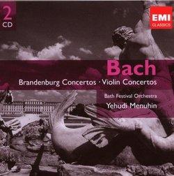 Bach: Brandenburg & Violin Concertos