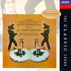 Albéniz: Suite Española; Falla: El Amor Brujo / Rafael Fruhbeck de Burgos