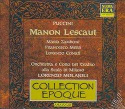 Puccini: Manon Lescaut (Recording: Milan, 1930)