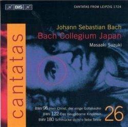 Bach: Cantatas, Vol 26 (BWV 180, 122, 96) /Bach Collegium Japan * Suzuki