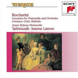 Boccherini: Concertos for Violoncello and Orchestra; Overture; Octet; Sinfonia