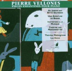 Pierre Vellones: Children's Pieces for Piano