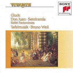 Gluck - Don Juan · Semiramis (Ballet Pantomimes) / Tafelmusik · Bruno Weil