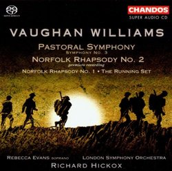 Vaughan Williams Pastoral Symphony; Norfolk Rhapsody No. 2